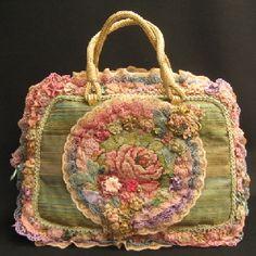 CHIMAKI(チマキ) ゴブラン織りとレースのゴージャスなバッグ - 印象派雑貨SHOP/モリゾ