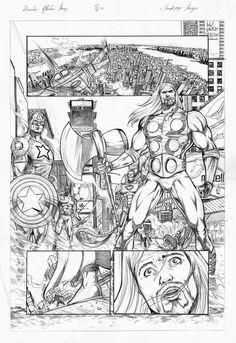 Gleidson Araujo: Sample page - Avengers