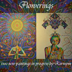 two new paintings in progress 'Flowerings' Paintings, Instagram Posts, Art, Art Background, Paint, Painting Art, Kunst, Performing Arts, Painting
