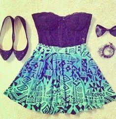 Teen fashion ~ i love the colors! I Love Fashion, Passion For Fashion, Womens Fashion, Fashion Fashion, Fashion Shoes, Fasion, Fashion Clothes, Fashion Beauty, Fashion Trends