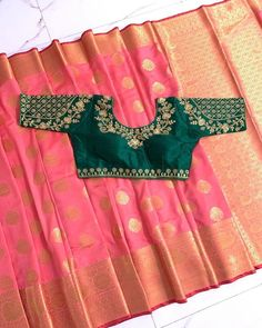 Work Blouse, Cover Photos, Indian Fashion, Beaded Jewelry, Trending Outfits, Embroidery, Bride, Creative, Blouses