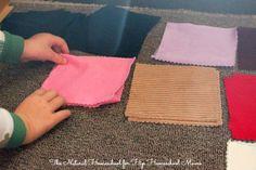 Montessori Fabric Box Tutorial
