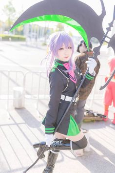 Title: Owari no Seraph | Seraph of the End __ Character: Shinoa