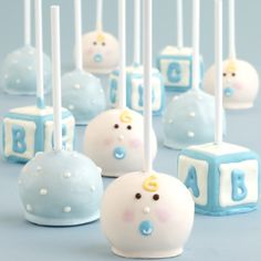 Flower Cake Pops Ideas | cake pop ideas for baby shower image search results