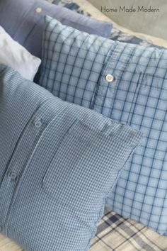 how to make pillows out of shirts
