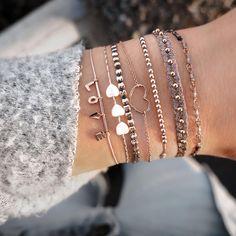 Stylish Jewelry, Simple Jewelry, Cute Jewelry, Silver Jewelry, Jewelry Accessories, Fashion Accessories, Jewelry Design, Women Jewelry, Fashion Jewelry