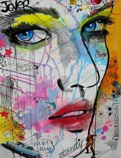 """Saatchi Online Artist Loui Jover; Drawing, """"bam bam"""" #art"""