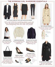 Working Girl Wardrobe Essentials | MEMORANDUM, formerly The Classy Cubicle | Bloglovin'