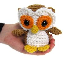 Crochet Design   Tiny Owl Crochet Pattern » small crochet owl pattern woodland ...