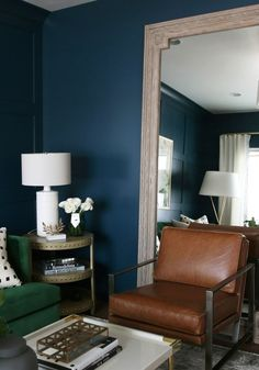 See how a little molding goes a long way! We partnered with Metrie to create a formal sitting room!
