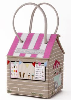 Lulu Guinness Ice cream hut bag