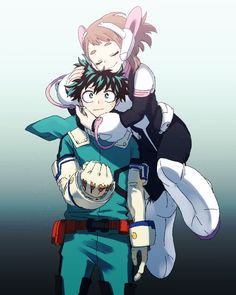 Super Sugoi Midoriya x Uraraka Boku No Hero Favorite Character, Chibi, Drawings, Hero Wallpaper, My Hero Academia Episodes, My Hero, Anime, Hero Academia Characters, Fan Art
