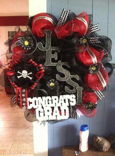 Grad wreath i made