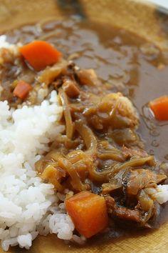 riz au curry à la japonaise