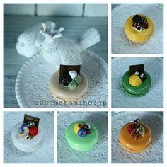 粘土マカロンたち clay macarons Clay, Sweets, Gallery, Home Decor, Clays, Gummi Candy, Roof Rack, Candy, Goodies