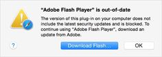 Apple obliga posesorii de Mac-uri sa actualizeze Adobe flash din cauza unui malware periculos