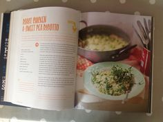 Roast chicken & sweet pea risotto from Save with Jamie
