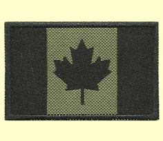 http://tactical.toys/ OD Green Canada Flag Morale Patch