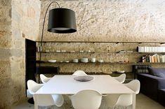 Rústico e minimalista - sandstone inside-great texture