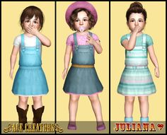 Little Gardener - Toddler Outfit by Juliana | Ace Creators