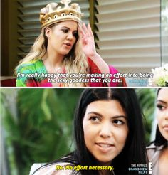 And Khloé noticing the overall change – which Kourtney used as an opportunity for yet another one-liner. | Here's How Much Kourtney Kardashian Has Changed Since Splitting From Scott