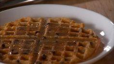 Giada De Laurentiis - Lemon-Almond Waffles