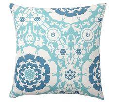 Outdoor Camelot Print Pillow #potterybarn