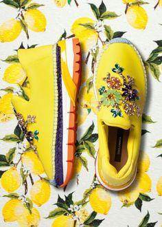 Dolce & Gabbana Summer 2016 Fashion Footwear with Strass inside the 'Italian Summer Women Collection'. More insights on @dolcegabbana. #dgwoman #italiaislove