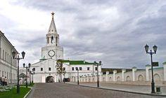 Спасская башня Казанского Кремля Казань