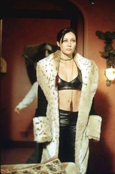 Prue as Ms. Hellfire / Shannen Doherty in Charmed