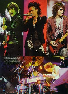 L'Arc~en~Ciel (Japanese Rock Band). World Tour 2012.