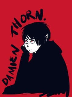 Damien Thorn anime south park Damien Thorn, Tweek And Craig, South Park Fanart, Angels And Demons, Horror, Goth, Fan Art, Dip, Anime