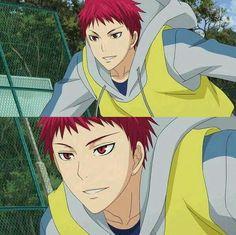 His smile. -Akashi seijuro Kuroko no Basket 😍😍😍😍😍😍😘😘😘 Akashi Kuroko, Akashi Seijuro, Kuroko No Basket Characters, Anime Characters, Cute Anime Boy, Anime Love, Anime Chibi, Manga Anime, Cute Anime Coupes