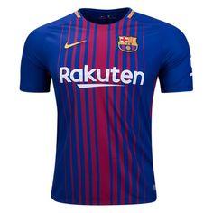Nike Barcelona Home Jersey 17/18 (Blue/Maroon)