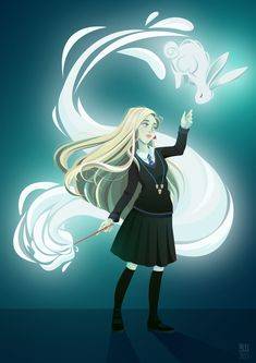 Luna lovegood vector art on behance Fanart Harry Potter, Magia Harry Potter, Harry Potter Artwork, Harry Potter Drawings, Harry Potter Memes, Potter Facts, Luna Lovegood, Ravenclaw, Hogwarts