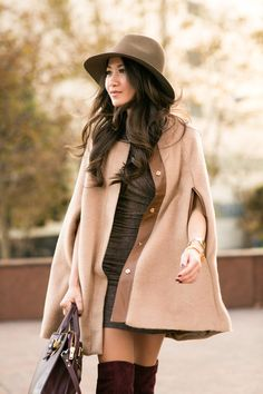 Share the Warmth :: Camel cape