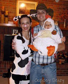 easy family theme- farm animals and farmer