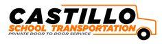 Logo for private transportation company, Castillo School Transportation