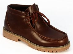 Wallabee Boot by VIKINGS in Redwood