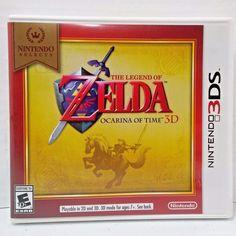 The Legend of Zelda: Ocarina of Time 3D - Nintendo Selects (Nintendo 3DS, 2016) #Nintendo