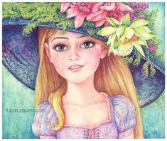 """Rapunzel smiling by B-AGT.deviantart.com on @DeviantArt - From """"Tangled"""""""