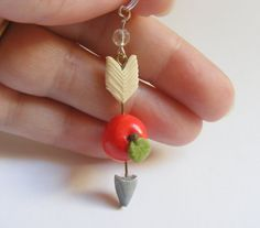 Hey, I found this really awesome Etsy listing at http://www.etsy.com/listing/99204544/apple-and-arrow-necklace