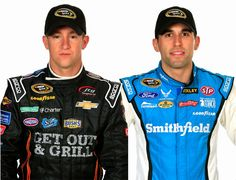 #NASCAR Race Mom will be keeping her eyes glued to a pair of underdogs; the two Double A drivers – Aric Almirola and A.J. Allmendinger.  With this new chase format, where a win will automatically advance a driver to the next round, only one fact is a certain: both Aric and A.J. will have to achieve the abstract combination of luck and skill to avert the bottom four of the Chase Point Standing in order to advance to the Contender Round.   NASCAR Race Mom will be rooting for them both!