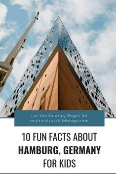 "10 Fun Facts about Hamburg, Germany for Kids: learn about the city which its locals claim to be ""the most beautiful in the world! Fun Facts About Germany, Germany For Kids, Geography For Kids, About Sweden, Cities In Germany, Hamburg Germany, Diy Crafts For Kids, Fun Crafts, Summer Activities"