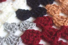 Knits from Rosetta Getty Fall 16 Moda Crochet, Crochet Poncho, Rosetta Getty, Knits, Crochet Necklace, Burgundy, Skirt, Knitting, Brown