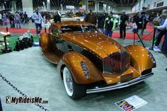 2010 Detroit Autorama: Hot rods, customs, and Ridler contenders oh my! 1934 Packard Boat Tail Coupe Myth