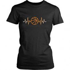 timeless design 26b8f 2aeba Sport T Shirt - Basketball Rhythm Basketball Pulse  basketballquotes Girls  Basketball, Basketball Mom Shirts