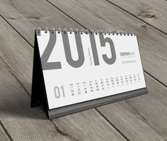 Desk Calendar 2015 Template on Behance 2018 Calendar Template, Planner Template, Desk Calender, Kalender Design, Photo Calendar, Calendar Ideas, Custom Desk, Symbol Design, Instagram Logo