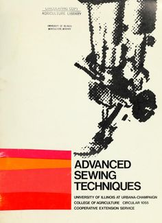 """Advanced Sewing Techniques"" by: Marjorie Mead and Esther Siemen (1972) 