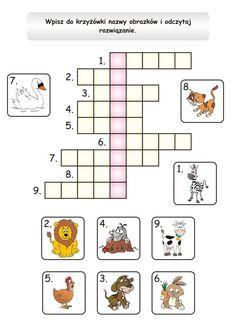 Preschool Kindergarten, Kindergarten Worksheets, Polish Language, Asd, Activities For Kids, Education, Learning, Children, Therapy